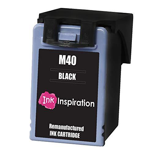 INK INSPIRATION® M40 Cartucho de Tinta Remanufacturado para Samsung SF-300 SF-300T SF-330 SF-335 SF-340 SF-345 SF-345T SF-355T SF-360 SF-365 SF-365TP | Negro, Alta Capacidad