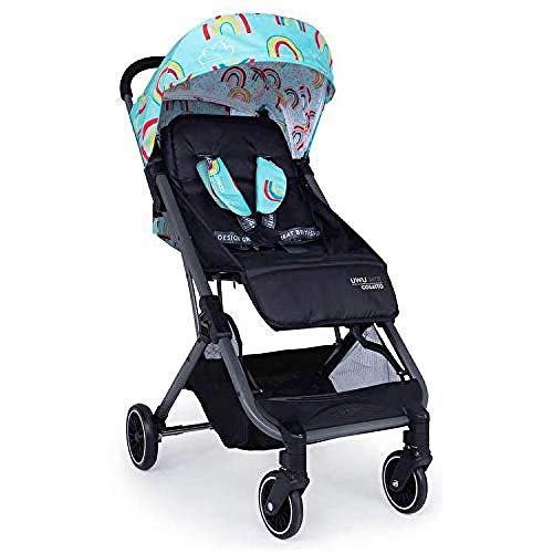 Cosatto UWU Mix Pushchair – Essential, Compact City Stroller | Suitable from Birth to Toddler, Easy Fold, Pull Along Handle (Rainbow Rider)