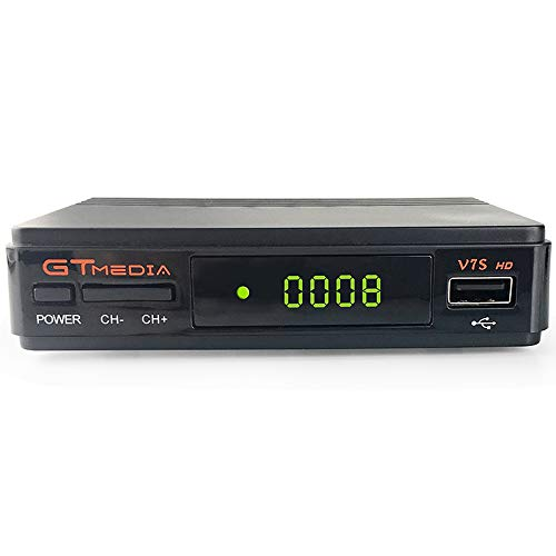 GT MEDIA V7S HD Receptor Satélite DVB-S/S2 Decodificador de TV por Satelite con...
