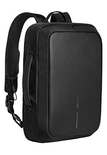 XDDesign Unisex XD Design Bobby Bizz Diebstahlschutz Rucksack und Aktentasche, Schwarz, Einheitsgröße