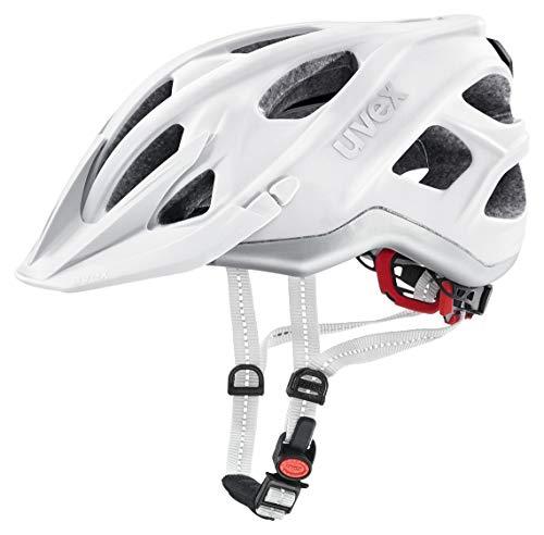 Uvex Unisex– Erwachsene, city light Fahrradhelm, white mat, 52-57 cm