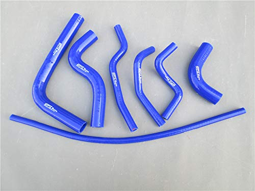 MONROE RACING Silicone Radiator Heater Hose for SUZUKI SAMURAI 1986-1995 87 88 89 90 91 92 93 94 (BLUE)