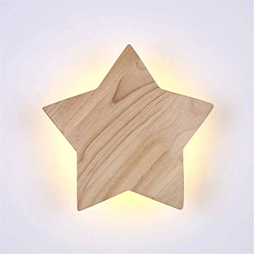 Iluminación de pared ligera para sala de estar. de luz LED arandela de la pared, luces cálidas sol pasillo, pasillo moderno minimalista dormitorio, lámpara de pared de la cabeza de madera, lámpara de