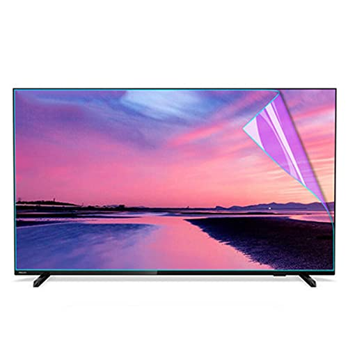 ALGWXQ Protector Pantalla TV La Tasa de Supresión Luz Azul Alcanza El 30,1% Aliviar La Fatiga Ocular Prevenir La Miopía Varios Tamaños (Color : HD Version, Size : 42 Inch 917 * 516mm)
