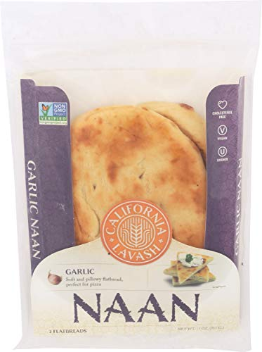 California Lavash, Naan Garlic, 11 Ounce