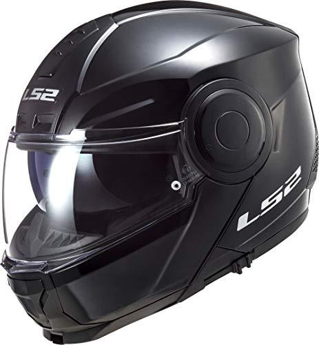 LS2, Casco modular de moto, Scope negro, M
