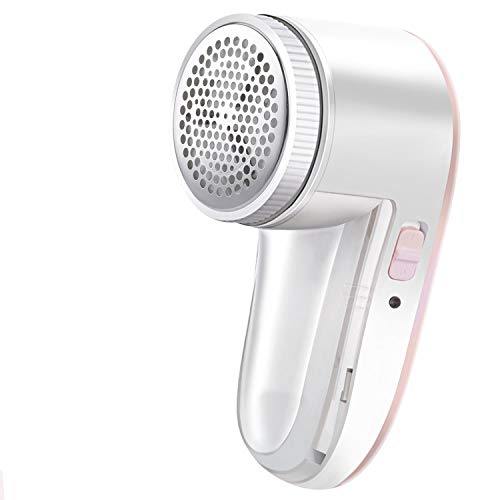 Fabric Shaver Defuzzer, Rechargeable Lint Remover, Electric Sweater Shaver with Replaceable Stainless Steel Blade
