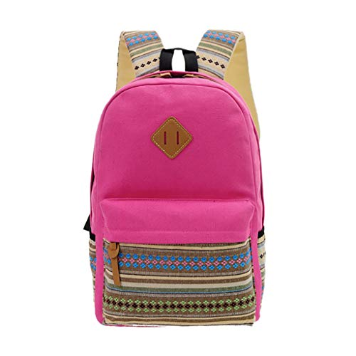 Lowest Prices! Backpack Purse for Women, Huazi2 Nylon Lightweight Shoulder Bag Capacity Student Trav...