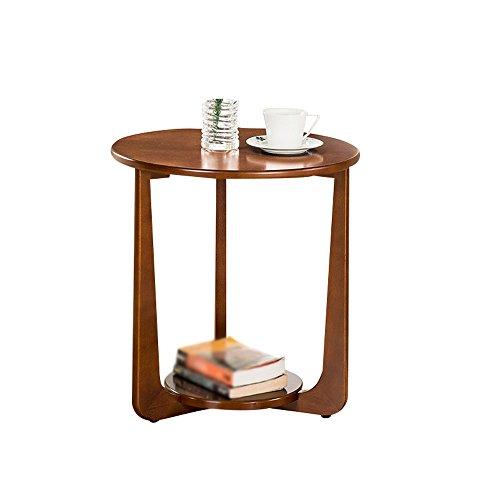 Bedside Table PHTW HTZ Comodino Camera da Letto | Tavolino in Legno Massello Divano Tavolino Ristorante | Tavolino Tavolino | Arredo Camera da Letto Moderna 50X53.5cm +