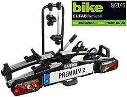 Eufab 11521 Premium II - Portabici per portellone Baule