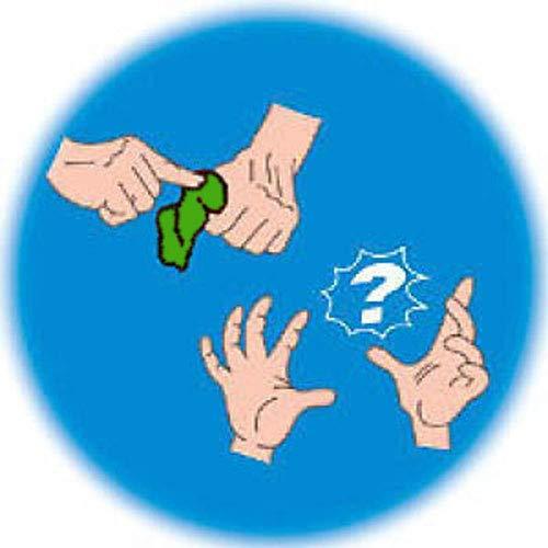 Cilindro Magico Foular Verde Che Sparisce e Appare,Giochi di prestigio,Trucchi magia
