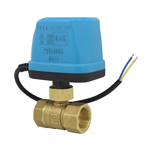 DC12v ~ 24v NC - valvola motorizzata normalmente chiusa elettrovalvola nc 1 pezzo - 1/2 3/4 1 1-1/4 1-1/2 2 pollice (DN20-3/4 pollice)