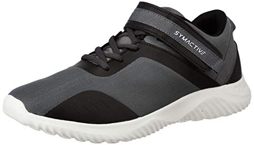 Amazon Brand - Symactive Men's Grey/Black Running Shoes-11 UK (SYM-ET-005A)