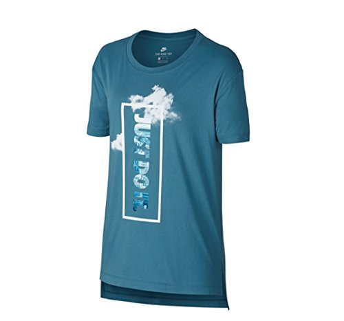 NIKE 889538, Camiseta para Mujer, Mujer, 889538, Noise Aqua Bianco, XS