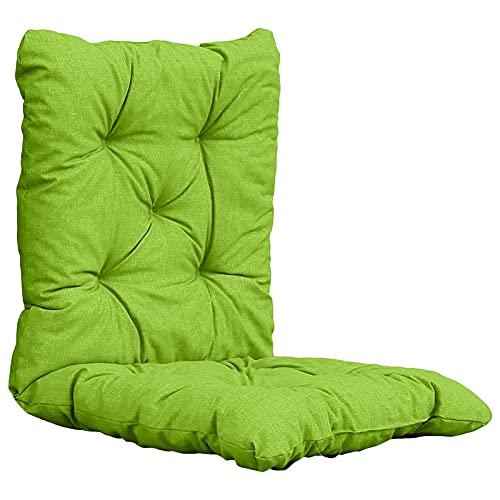 ppqq Adecuado para mecedora, cojín tapizado, banco Tatami, hogar, jardín, patio, reclinable, silla de playa, sofá, cojín plegable (color: B)