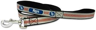 MLB Tampa Bay Rays Baseball Leather Chain Leash 2.5 mm