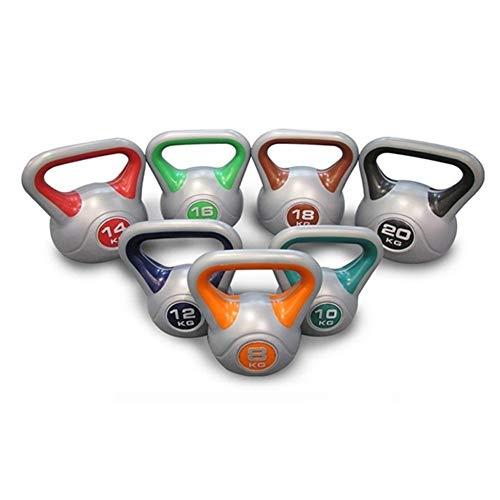 Kettlebells WXYZ PVC De Color Fitness Pesas Rusas, Lleno De Limo Solidificadas De Material, Gimnasio En Casa Fuerza Equipo De Formación, Puede Elegir Peso 2kg-20kg (Size : 3kg)