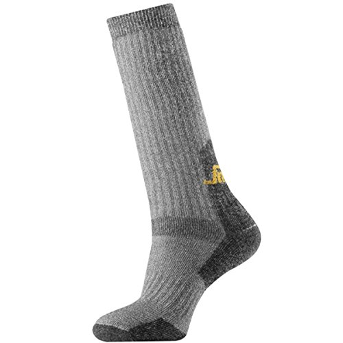 Snickers 92101804042 Chaussettes hautes Taille 40-42 Gris