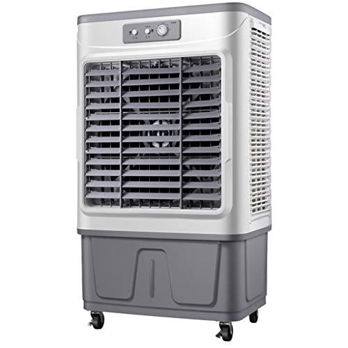 Enfriador De Aire Evaporativo Industrial Y Comercial Grande, 750 W De Alta Potencia, 18000 M³ / H De Gran Volumen De Aire, Tanque De Agua Ultra Grande De 90 L, Viento De 3 Velocidades