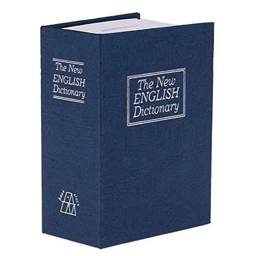 Diccionario Mini Caja Segura Libro Dinero Secreto Secreto Seguro Dinero Dinero Moneda Almacenamiento Joyería Clave Locker D
