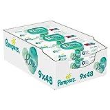 Pampers Aqua Pure Lingette Humide - 432 unités (9x48) - lot de 9