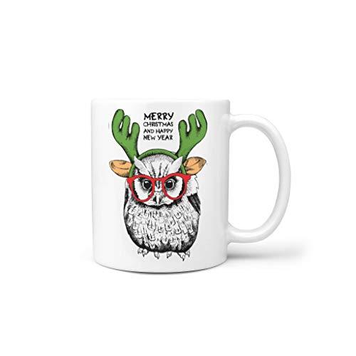 Generic Branded Tazas de café de cerámica lisa importante lindo – Vasos de agua adecuados para lounge para aniversario blanco 330 ml