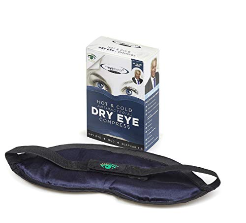 The Eye Doctor Essential – Antibacterial Hot Eye Compress Heat Bag for Dry Eye, Blepharitis and MGD - Safe to Heat in a Microwave – Hot and Cold Eye Compress