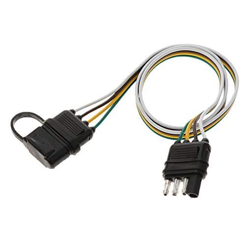 LiCHANGZHU LCBIAO 82cm 4 Pin RV Remolque cableado Enchufe Adaptador de Cable Plano Cable Impermeable Más Vendido