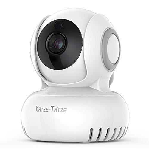 Überwachungskamera WLAN IP Kamera 270°/120°Schwenkbar, Zwei-Wege-Audio mit Bewegungserkennung, Nachtsicht, Mobile App Kontrolle einfache Nutzung bis zu 100M WiFi Übertragung für Haustier/Baby Monitor