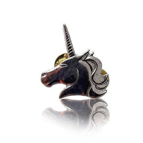 Daywalker Bikestuff pin naald Badge Eenhoorn Unicorn Fabelwezens Fairytale Horn schimmel paard 3,5 cm x 3 cm adelaar.