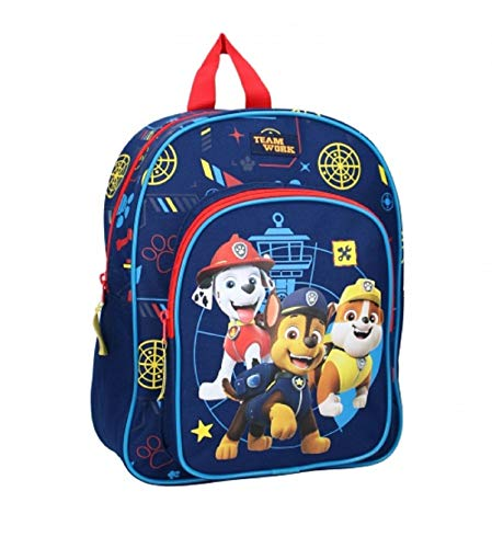 Boys Disney Paw Patrol Deluxe Backpack with Front Pocket