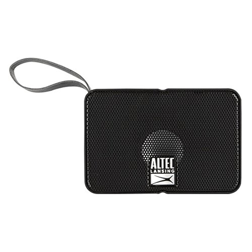Altec Lansing IMW120 Solo Motion Portable Bluetooth Wireless Speaker (Black)