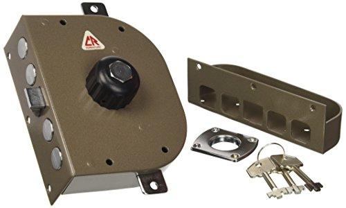 Cr Serrature 3250 P Serratura da Applicare con Scrocco, Entrata Sinistra, 60 mm