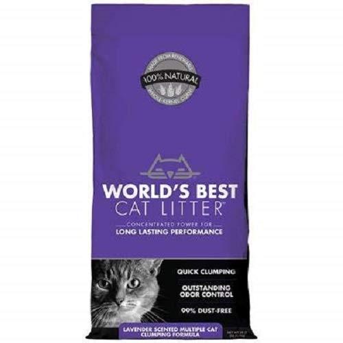 World\'s Best Cat Litter Katzenstreu, Lavendel, 12.7kg