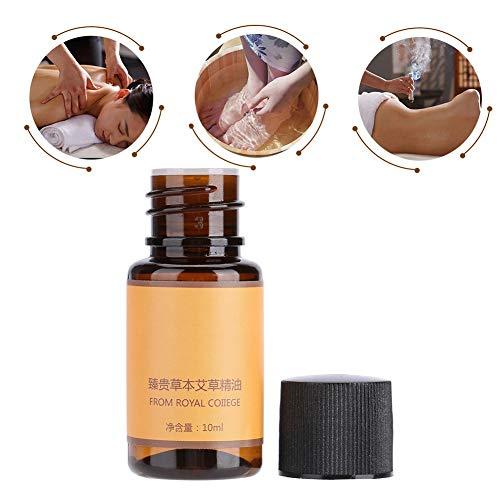 Massage mit ätherischen Ölen, Körpermassage Müdigkeitsmassage Hautpflege- und Pflegemassage für ätherische Öle auf der Basis von ätherischem Wermutöl - 10 ml