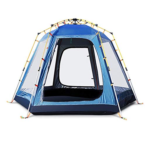 Utilisation multiple Sports de plein air Tente Camping Épaississement extérieur automatique Crème solaire anti-pluie Intérieur Tente pliante coupe-vent respirant Équipement d'extérieur ( Color : C )