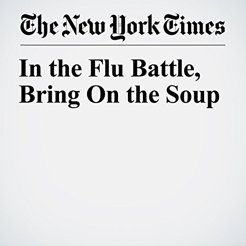 In the Flu Battle, Bring On the Soup copertina
