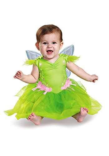Tinker Bell Deluxe Infant Costume 6/12 Months Lime