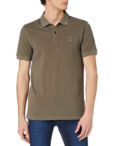 BOSS Herren Prime Polo Shirt, Beige/Khaki250, L EU