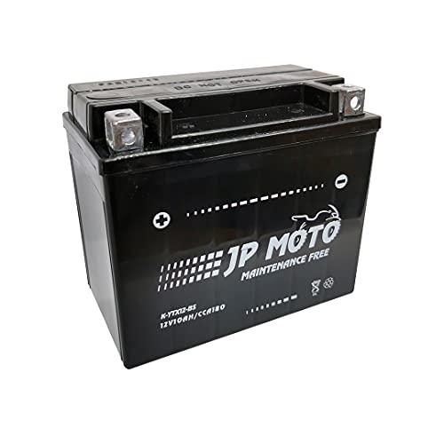Batería Moto YTX12-BS AGM 12 V 10 Ah CCA/-18º 180 Amp. Máxima Potencia. Maxima Eficacia.