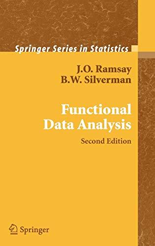 Functional Data Analysis (Springer Series in Statistics)