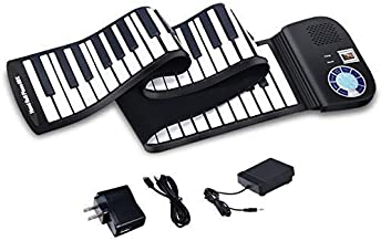 Foldable Portable Keyboard Piano, Safeplus 61 Keys Electric