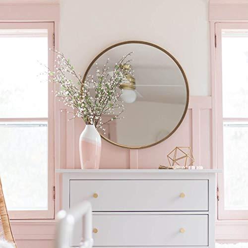 vintage round mirror - 7