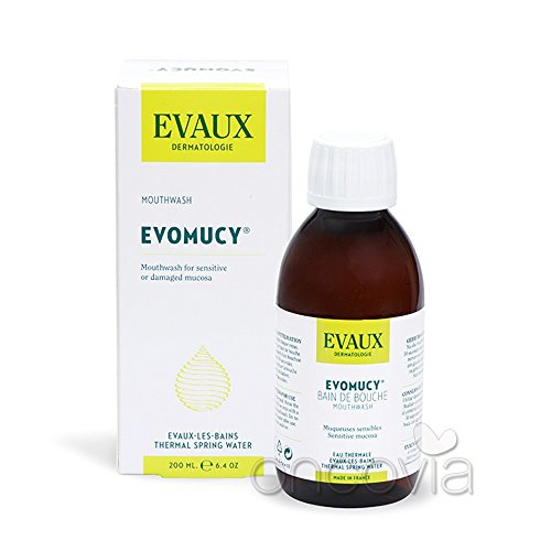 Evomucy enjuague bucal preventivo 200 ml para personas en tratamiento de quimioterapia
