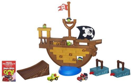 AB Karts - Angry Birds Go! Barco Pirata (Hasbro A6439E24)