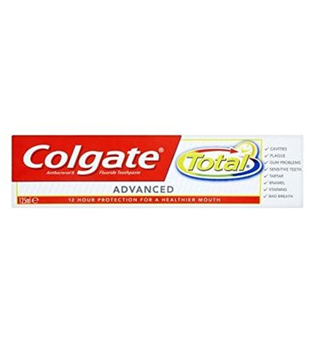 受粉者臭い予約Colgate Total advanced 125ml - コルゲートトータル高度な125ミリリットル (Colgate) [並行輸入品]