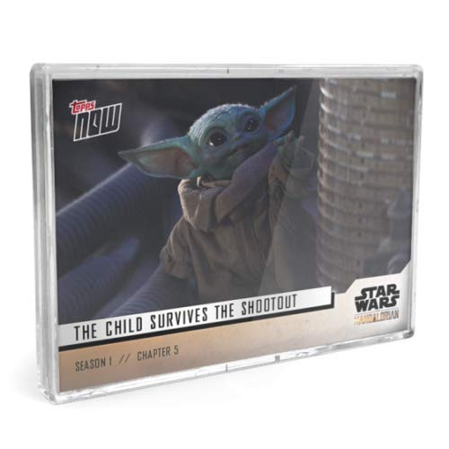 BABY YODA TOPPS NOW 5 CARD SET STAR WARS MANDALORIAN SEASON 1 CHAPTER 5 CARDS #21-25