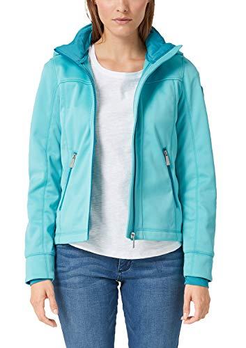 s.Oliver Damen 05.902.51.7007 Jacke, Blau (Aqua 6225), (Herstellergröße: 36)