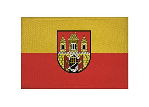 UB Aufnäher Prag Flagge/Fahne Aufbügler Patch 9 cm x 6 cm Neuware!!!