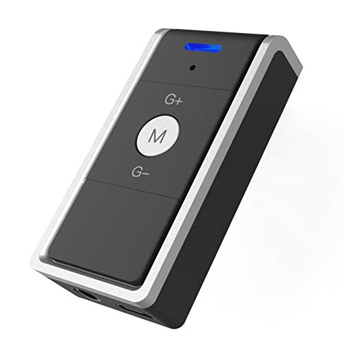 TOOGOO Récepteur Bluetooth 4.2 Récepteur Audio Bluetooth sans Fil 3.5Mm De Voiture Adaptateur Bluetooth Aux pour Haut-Parleur Casque Mains Libres
